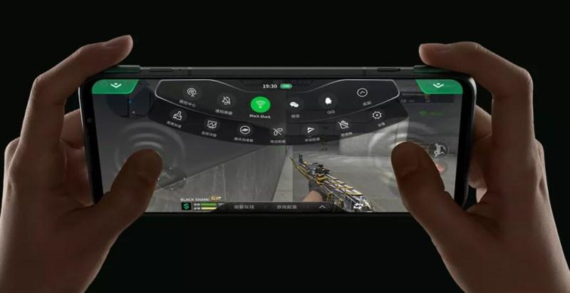 Black Shark 3 traz gatilho físico para jogos — Foto: Divulgação/Xiaomi