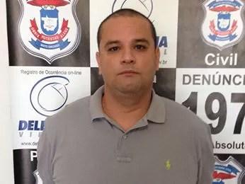 Thiago Bernini foi preso e confessou o crime (Foto: Divulgação/Polícia Civil de MT)