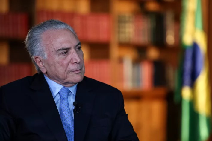 Ex-presidente Michel Temer — Foto: Marcos Corrêa/Presidência da República