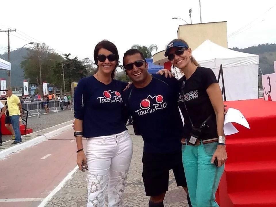 Luisa Jucá, Claudio Clarindo e Rita Almeida
