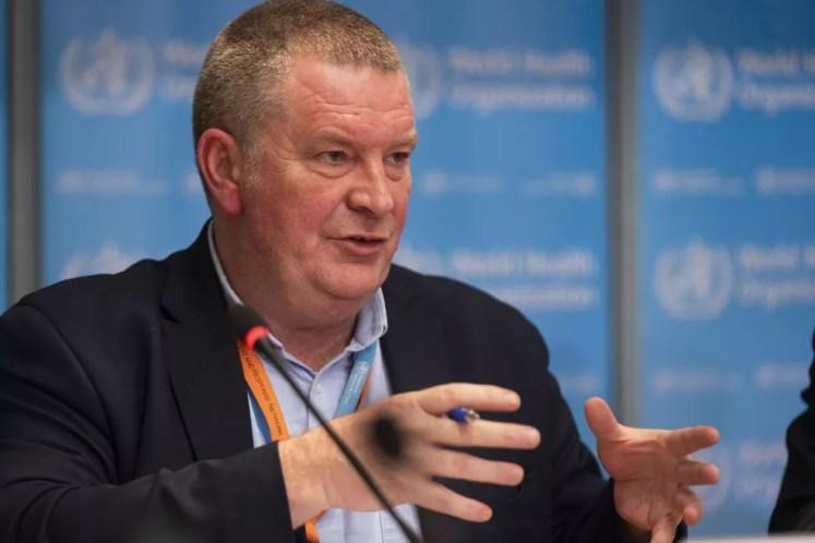 Michael Ryan, diretor-executivo do programa de emergências da Organização Mundial da Saúde (OMS) — Foto: Christopher Black/OMS