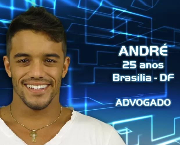 André  (Foto: Reprodução/TV Globo)