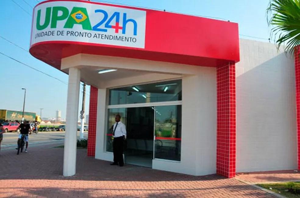 Jovem foi atendido inicialmente na UPA Samambaia em Praia Grande, SP — Foto: Divulgação/Prefeitura de Praia Grande