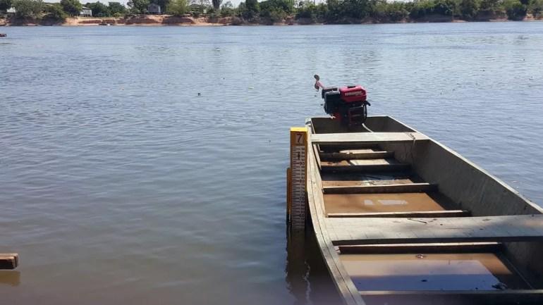 Vítima mais recente desapareceu no rio Machado. — Foto: Pâmela Fernandes/G1