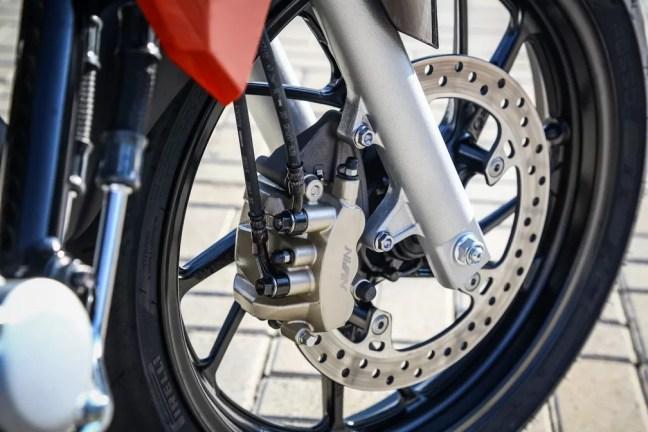 Motos terão freios ABS ou CBS — Foto: Honda/Divulgação