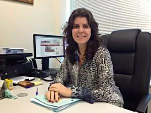Promotora Dulce Helena fala sobre índices de homicídios (Foto: Veriana Ribeiro/G1)