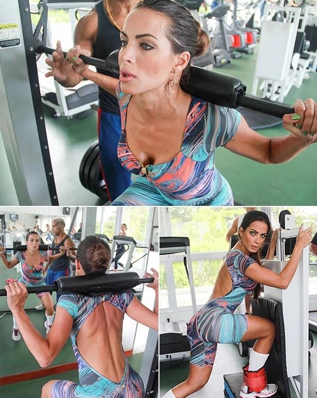 Carla Prata treinando (Foto: Patricia Palhares / EUATLETA.COM)