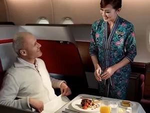 Malasyan Airlines primeira classe (Foto: Divulgação)