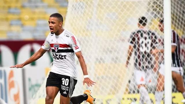 Brenner decidiu o jogo Fluminense x São Paulo