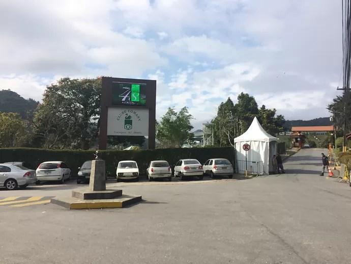 Granja Comary em Teresópolis (Foto: Gustavo Garcia/GloboEsporte.com)