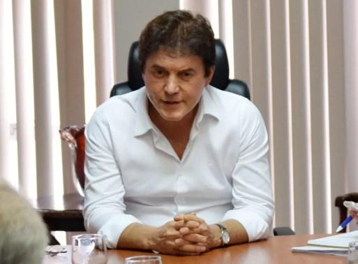 Robinson Faria, governador do Rio Grande do Norte, negou que tenha recebido doações não declaradas na campanha de 2014 (Foto: Thyago Macedo/G1)