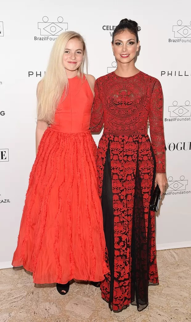 Morgan Saylor and Morena Baccarin (Foto: AFP)