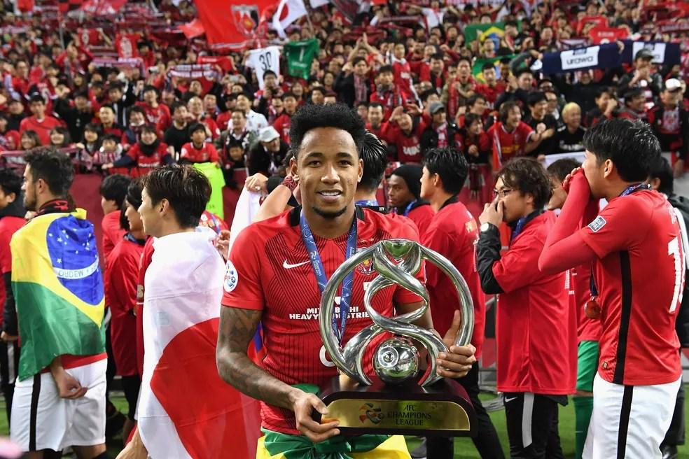 Destaque na Champions da Ásia, brasileiro Rafael Silva estará no Mundial com o Urawa (Foto: Getty Images)