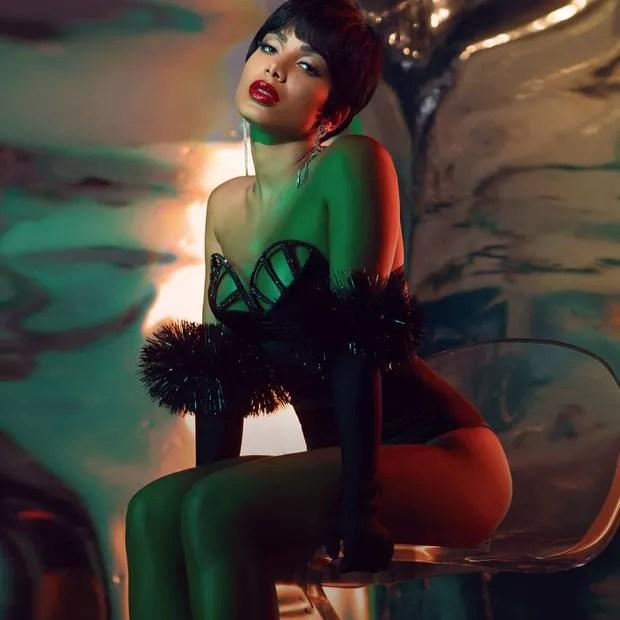 Anitta - track 8 - Rosa (Foto: Reprodução/Instagram)