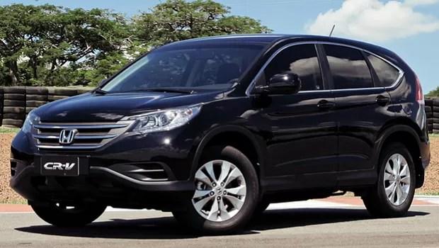 Honda CR-V 2012 (Foto: Honda)
