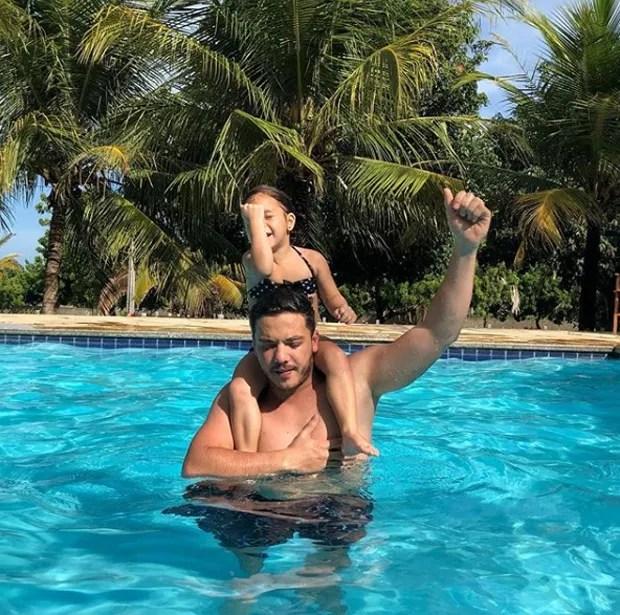 Wesley Safadão e Ysis (Foto: Reprodução/Instagram)