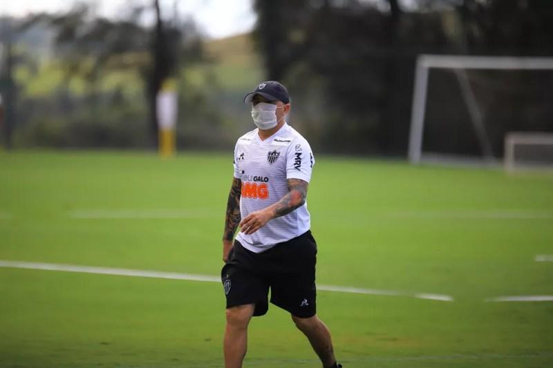 Jorge Sampaoli, treinador do Atlético-MG — Foto: Pedro Souza/Atlético-MG