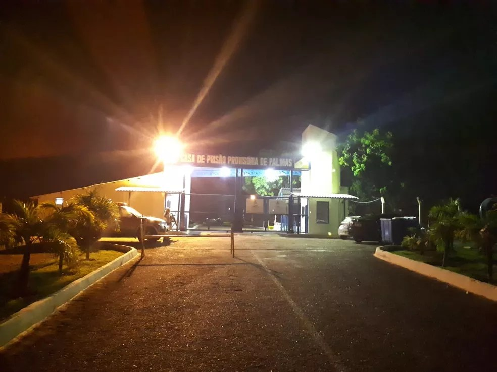 Explosão foi na Casa de Prisão Provisória de Palmas — Foto: Manoela Messias/TV Anhanguera