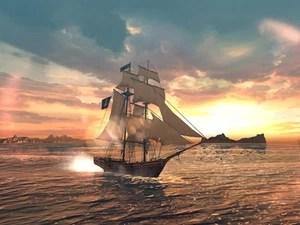 Cena de 'Assassin's Creed: Pirates', game de batalhas navais da série para smartphones e tablets (Foto: Divulgação/Ubisoft)