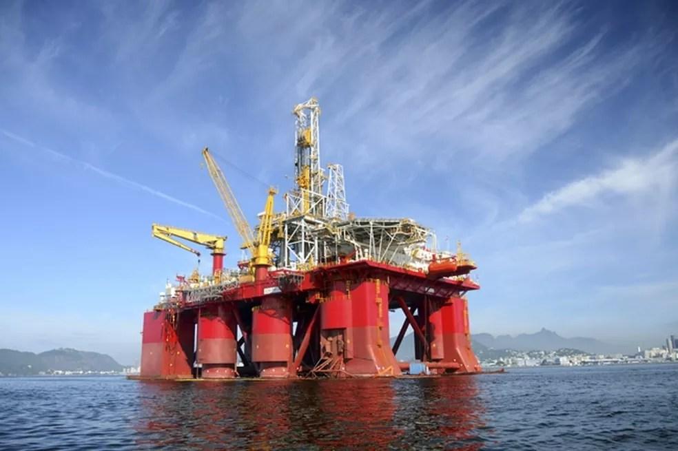 Plataforma de perfuração da Odebrecht Óleo e Gás (Foto: Divulgação)