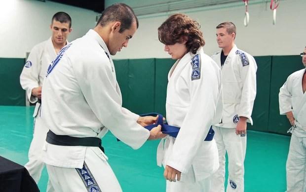 Filho do Michael Jackson graduação jiu-jítsu (Foto: Arquivo Pessoal)