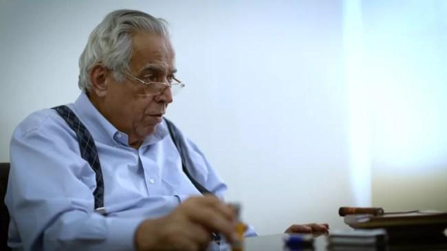 Eurico Miranda, ex-presidente do Vasco — Foto: Leonardo Magliano