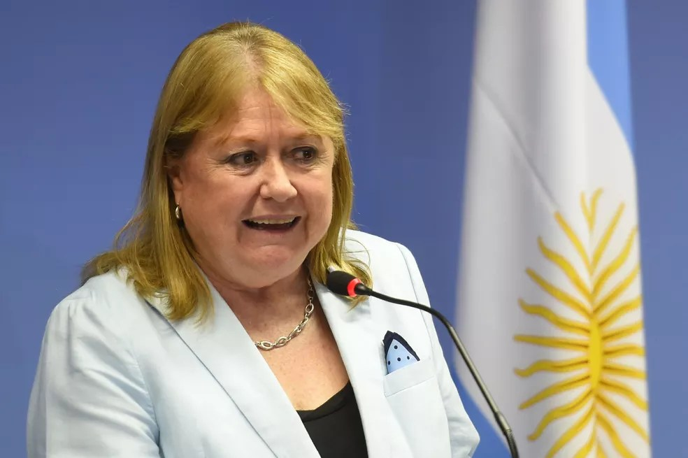Susana Malcorra, chanceler da Argentina, em imagem de arquivo (Foto: EVARISTO SA / AFP)