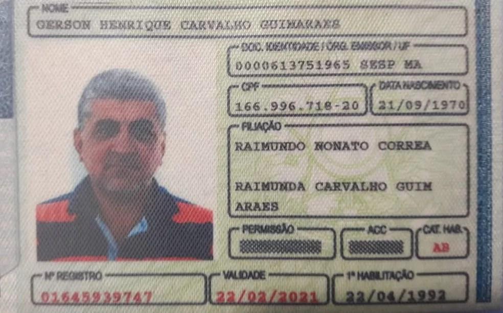 Gerson Henrique conduzia o veículo em alta velocidade em pista molhada, segundo a PRF (Foto: Divulgação/PRF)