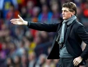 Tito Vilanova técnico jogo Barcelona Bayern de Munique (Foto: Reuters)