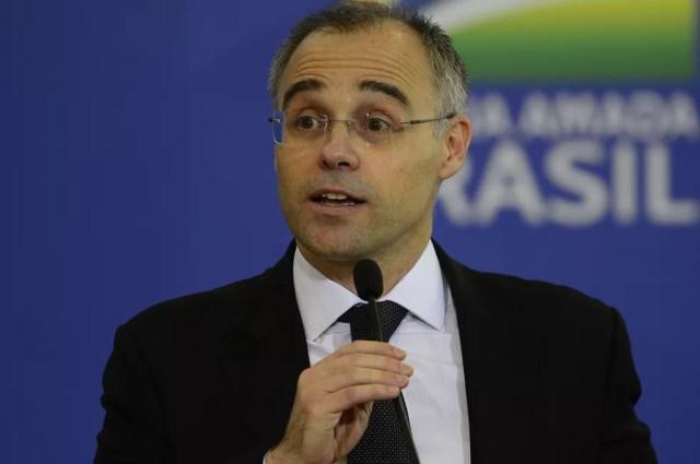 André Mendonça, ministro da Justiça e da Segurança Pública — Foto: Marcello Casal Jr./Agência Brasil