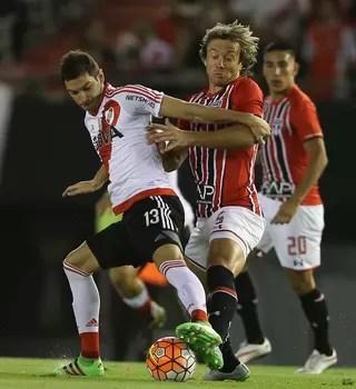 Lugano; River Plate x São Paulo; Libertadores (Foto: EFE)