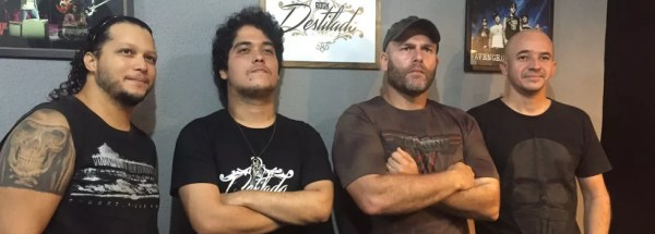 Rock Destilado banda — Foto: Divulgação