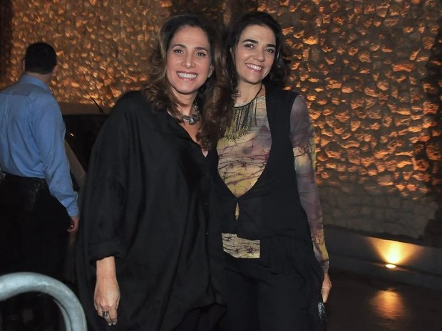 Totia Meireles e Solange Badim (Foto: Roberto Teixeira/ EGO)