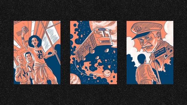 Ilustrações do livro 'Reservado', de Alexandre Ribeiro  — Foto: Lucas Sampaio/ Divulgação