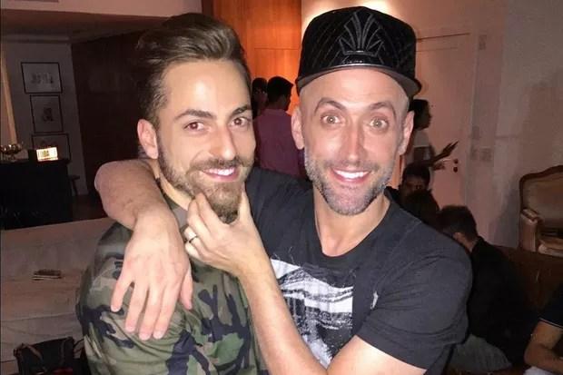 Thales Bretas e Paulo Gustavo (Foto: Reprodução/Instagram)