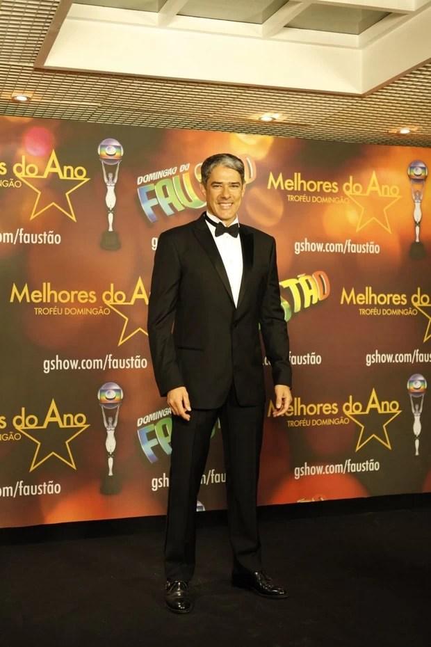 William Bonner no Prêmio Melhores do Ano (Foto: Marcos Serra Lima / EGO)