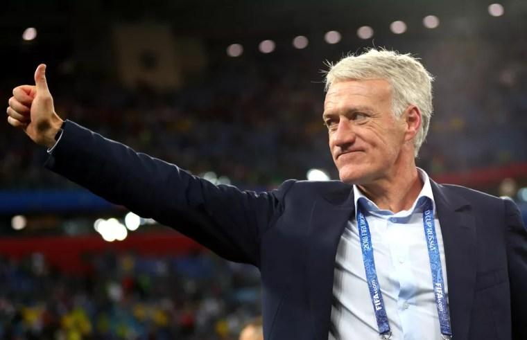 Deschamps pode entrar para seleto grupo de vencedores da Copa como jogador e técnico (Foto: Lars Baron - FIFA via Getty Images)