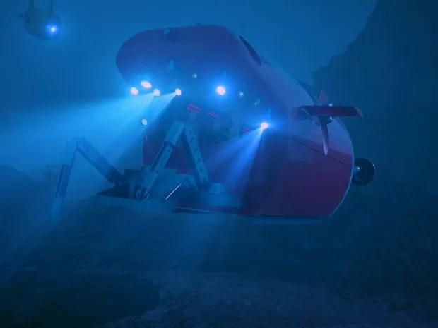 Projeto chinês quer levar missão tripulada ao ponto mais profundo do planeta: a Fossa das Marianas (Foto: BBC)