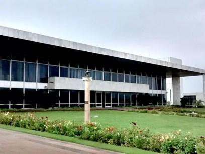 Palácio do Buriti, sede do governo do Distrito Federal (Foto: Lucas Nanini/G1)