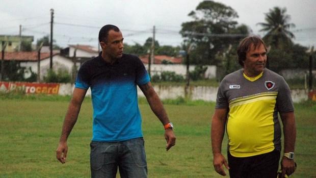 Genivaldo, Botafogo-PB, Campeonato Brasileiro, Série D, CSA, gripe, gripado (Foto: Richardson Gray / Globoesporte.com/pb)