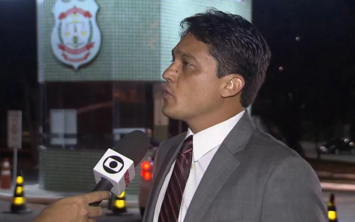Delegado da Polícia Civil do Distrito Federal Victor Dan (Foto: TV Globo/Reprodução)