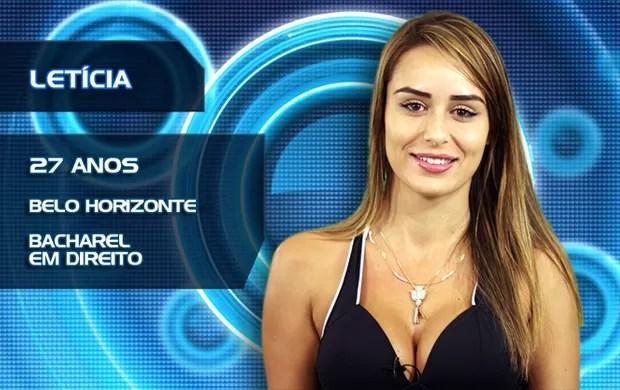Letícia (Foto: TV Globo/BBB)