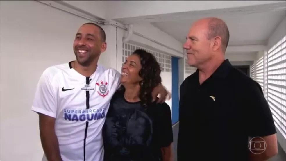 Serginho, Silvia e Zeco (Foto: Reprodução TV Globo)