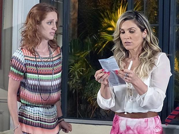 Pri confirma que está grávida (Foto: Além do Horizonte/TV Globo)