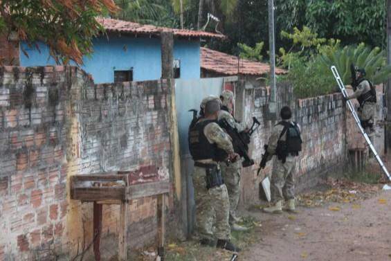 Polícia Federal em operação no Maranhão — Foto: Divulgação / Polícia Federal
