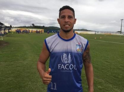 Thomas Anderson vai defender o Ypiranga-PE (Foto: Sabrina Rocha)