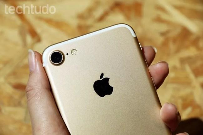iPhone 7 pode ser adquirido no pregão por a partir de R$ 300; saiba como participar — Foto: Anna Kellen Bull/TechTudo