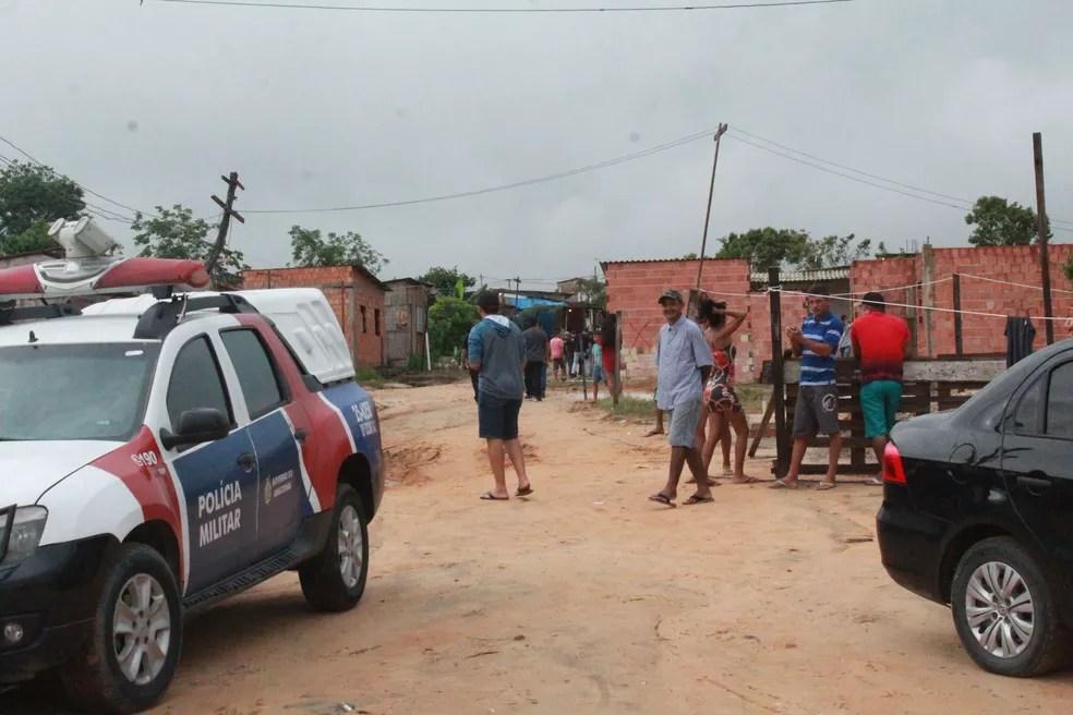 Operação Cidade das Trevas, na Zona Norte de Manaus — Foto: Eliana Nascimento/G1 Amazonas