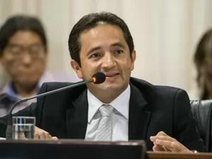 Permínio Pinto pediu afastamento do cargo de secretário de Educação de MT (Foto: José Medeiros/Gcom-MT)