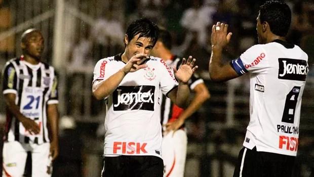 William gol Corinthians (Foto: Ale Cabral / Futura Press)